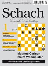 Einzelheft Schach 2017