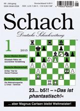 Einzelheft Schach 2015