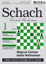 Einzelheft Schach 2019